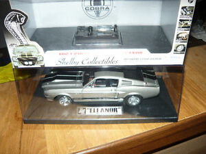 """1:18 die cast 1967 Shelby GT500E  """"ELEANOR"""" in Display case"""