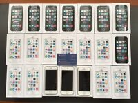 Brand new sim free Apple iPhone 5S sealed box in stock