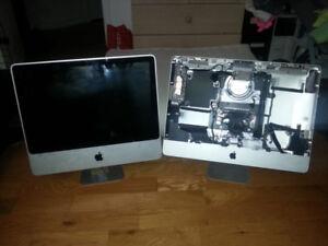 Plusieurs pièces pour Apple Mac