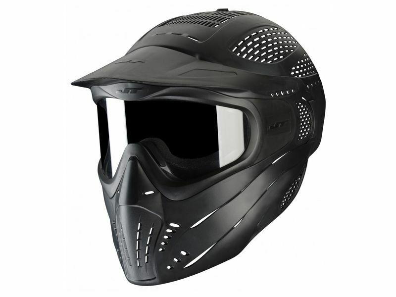 Paintball Maske JT Premise Headshield single schwarz