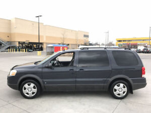 2009 Pontiac Montana,  SV6, 7 Pass, Leather,  Warranty availabl.