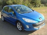 Peugeot 308 1.6 VTi ( 120bhp ) Sport, 82k, 12 months mot, drives and looks great