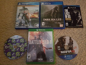 WiI U/Xbox One/PlayStation 4 Games For Sale
