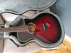 Yamaha electric acoustic guitar