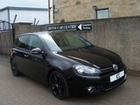 "09 09 VOLKSWAGEN GOLF 2.0 GT-TDI 140 TURBO DIESEL 5DR 17"" BLACK ALLOYS AIRCON"