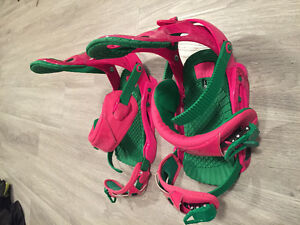 Size 10 and up women's Snowboard Bindings