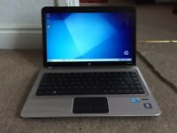 Hp pavilion DM4 core i5 500GB 4GB Windows 7 laptop