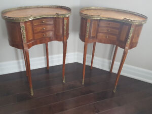 Antique Nightstand End Table