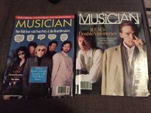Musician Magazines from the 80's