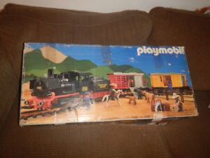 Train Playmobil 4029 Dans sa Boite A Voir