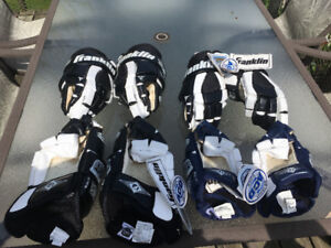 New Franklin 5505 hockey gloves for sale