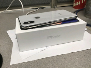 WHITE IPHONE X 64gb - unlocked - buy or trade