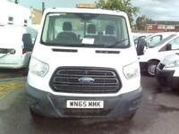 Ford Transit T350 S/CAB 125PS TIPPER DIESEL MANUAL WHITE (2015)