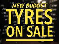 TYRES NEW ON SALE