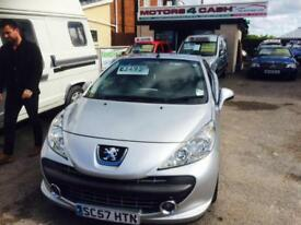 Peugeot 207 CC 1.6 16v 120 Coupe Sport Convertible Maual Metallic Sliver