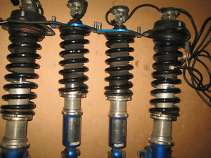 02 04 SUBARU LEGACY BE5 BHS B4 ADJUSTABLE COILOVERS JDM BE5