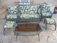 Outdoor Patio Set with Cushions