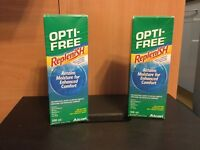 Opti-Free Contact Lens Solution £3