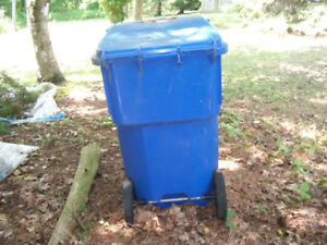 large recycling container