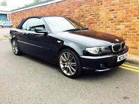 2006 BMW 325 2.5 Sequential SMG Ci SE CONVERTIBLE 92K F.S.H Rare Model