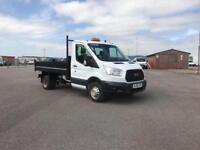 Ford Transit 350 L2 SINGLE CAB TIPPER 100PS EURO 5 DIESEL MANUAL WHITE (2014)
