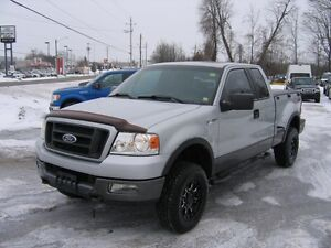 2005 Ford F-150 FX4 OffRoad SuperCab 4x4 Stepside
