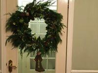 Christmas wreaths all natural foliage £30