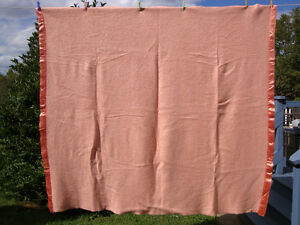 New Condition 100% Wool Blanket 86 inch x 76 inch