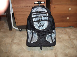 Roots backpack on wheels