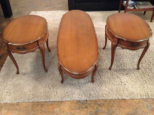 Vintage Coffee Table and Side tables