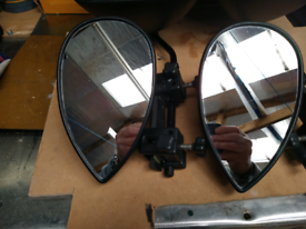 Milenco spare aero platinum towing mirrors only no extension