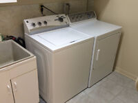Electric washer 3 Years old and GAS dryer