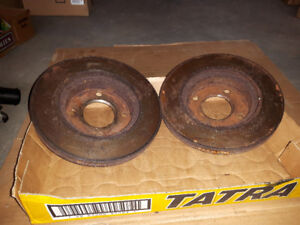 Smart Fortwo Car's Rear Brake Drums with 90% thickness. $35each.
