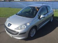 Peugeot 207 1.4 S 56, 2007, with 12 months MOT and 6 months extendable warranty