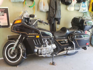 For Sale: 1981 Honda Gold Wing GL-1100