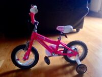 Girls Pink Bike (Specialized Hotrock 12) age 2-5