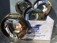 Ifor Williams trailer back plates brakes bearings Nugent hudson