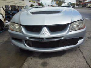 Jdm Mitsubishi lancer evolution 8 Front clip CT9A 4G63 Turbo Eng