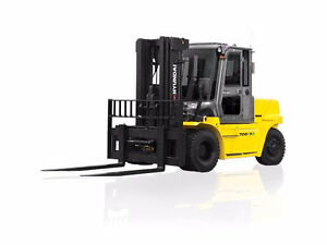 2016 HYUNDAI 70D-9 15500 Diesel Forklift FOR RENT ONLY