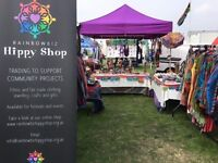 RainbowBiz Hippy Shop. Alternative clothing, fair trade, crafts, incense, jewellery.