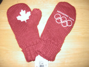 Collectible Vancouver Olympic Mittens