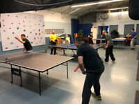Drop-In Ping Pong & Table Tennis Club