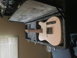 Fender Telecaster with Case, Amp and Pedal