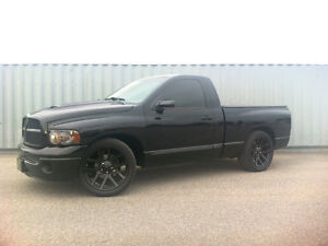 "2004 Dodge Ram 1500 - Lowered on SRT 22"" wheels"
