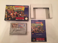 """Donkey Kong Country 2 'Diddy's Kong Quest"""" Super Nintendo - PAL Format Complete snes"""