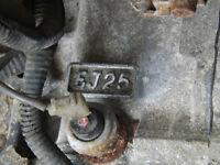 Subaru Engine 2.5 Liter EJ25 Single Cam