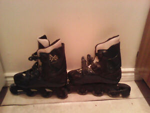 Used once roller blades