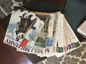 Military Hobbies magazines 19 Back Issues 1988-1995