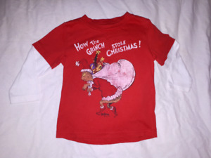 How The GRINCH Stole Christmas with Max,Toddler T-shirt Sz 24mts