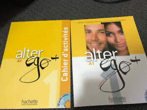 Alter Ego+ A1 (French text book + workbook with CD)